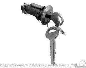 67-71 Trunk Lock Cylinder