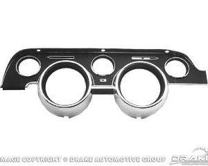 68 Instrument Bezel (Black Camera Case Finish)