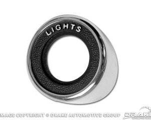 69 Headlight Switch Bezel