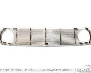 69 Billet aluminum grille