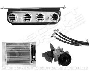 64-66 6 cyl A/C sys-oe style