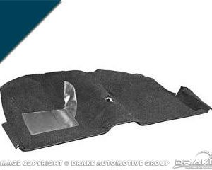 1964 Coupe Molded Carpet Kit (Dark Blue)