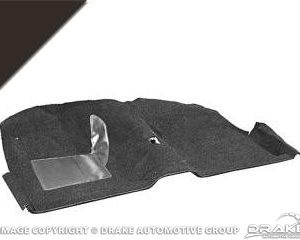 1964 Convertable Molded Carpet Kit (Black)