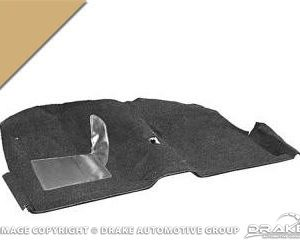 65-68 Coupe Molded Carpet Kit (Nugget Gold)