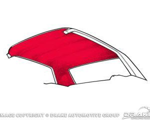 65-70 Coupe Headliner (Red)