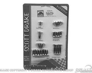 64-66 Coupe Interior Trim Screw Kit