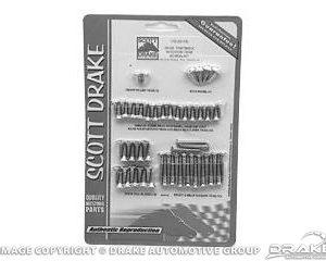 64-66 Fastback Interior Trim Screw Kit