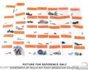 65-66 Interior Fastener Kit (Fastback, Standard Int)