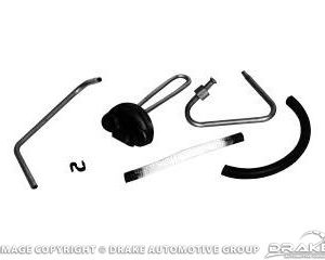 68-69 428 CJ Heat Riser Tube Kit (Stainless)