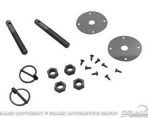 64-73 Hood Pin Kit (without Cables)