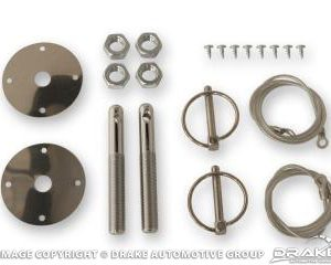 64-73 Hood Pin Kit