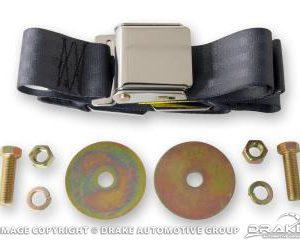 Aftermarket Seat Belts (Light Blue)