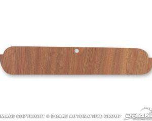 65-6 Glove Box Door (Wood Grain)