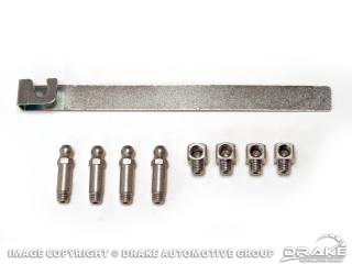64-73 Upper Control Arm Grease Fitting Kit