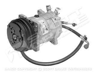 68 Sanden Compressor Conversion Kit (6 Cyl, R12)
