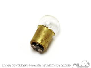 67-68 Door Courtesy Light Bulb (Amber, CA only)