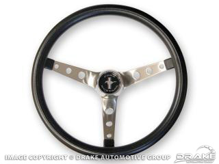 65-73 Grant Black Steering Wheel