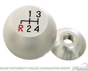 64-66 Billet 4 Speed Knob (Satin)