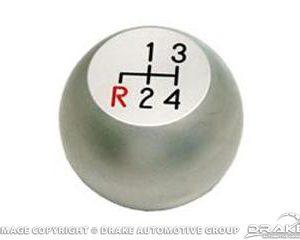67-68 Billet 4 Speed Knob (Satin)