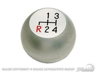 67-68 Billet 4 Speed Knob (Satin)