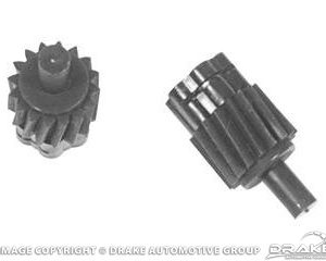 64-3 Speedometer Gear (18 Teeth Yellow, Fits 3 Speed and Automatic)
