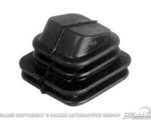 1965 6 Clyinder Clutch Lever Dust Boot