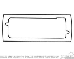 65-66 Door Lamp gasket (Pair)