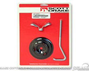 65-67 Spare Tire Mounting Kit Hook (Bolt Style)