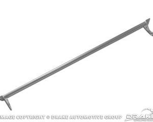 64-66 Straight Monte Carlo Bar, Stainless Steel