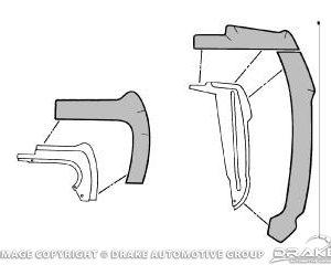 64-66 Fender Splash Shield Kit (Front)
