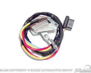 1965-66 Mustang Heater Switch Assembly (3 speed)
