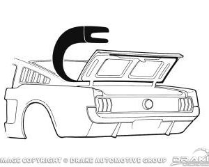 64-66 Fastback Trunk Seal