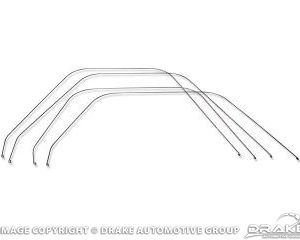 64-6 Standard upholstery bolster wires 4pc