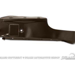 64-70 Left hand trunk floor-concours