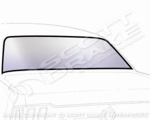 64-66 FB Back Glass, Clear