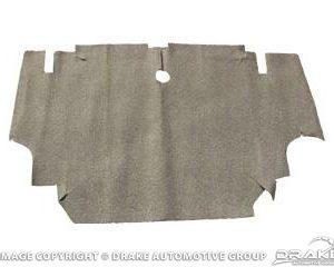 64-68 Burtex Trunk Mat (Coupe & Convertible, Speckle)