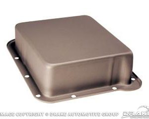 "64-73 Transmission pan (C4, 1"" Deeper, Natural Gray)"