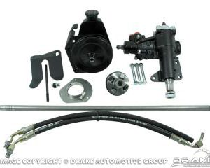 1964-66 Mustang Power Steering Conversion Kit - V8 MS to PS