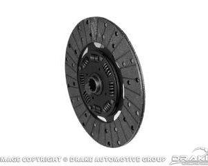 """64-73 Remanufactured Clutch Disc (8 Cylinder 10"""" Clutch Disc)"""