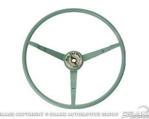 1966 Steering Wheel Aqua