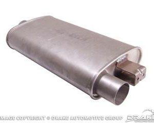 65-66 Dual exhaust muffler w/ OEM bracket