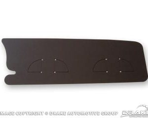 67-68 Trunk Filler Board (Black Chipboard)