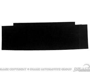 67-68 Convertible Rear Seat Divider