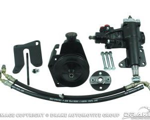 1968-69 Mustang Power Steering Conversion Kit - Small Block Manual Steering to Power Steering