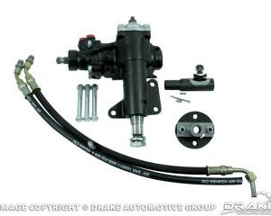 1968-69 Mustang Power Steering Conversion Kit - Small Block Power Steering to Power Steering