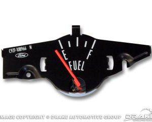 69 Fuel gauge/black