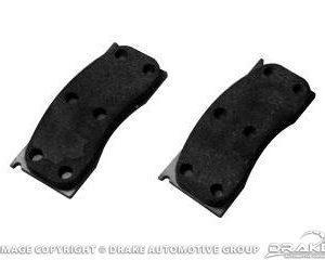 68-73 Front Disc Brake Pads