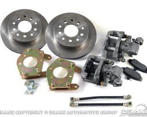 64-73 Rear Disc Brake Conversion Kit (Standard rotors, 28 spline)