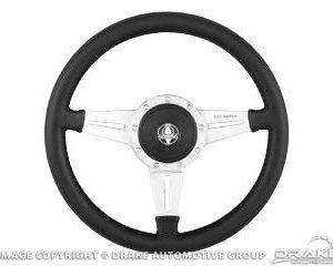 """65-73 Genuine Leather Steering Wheel (14"""")"""