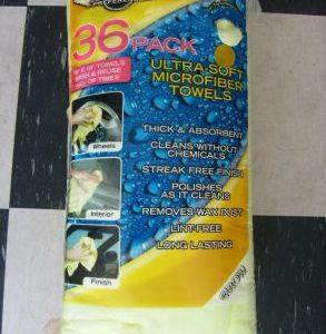 Ultra-soft micro fibre towels
